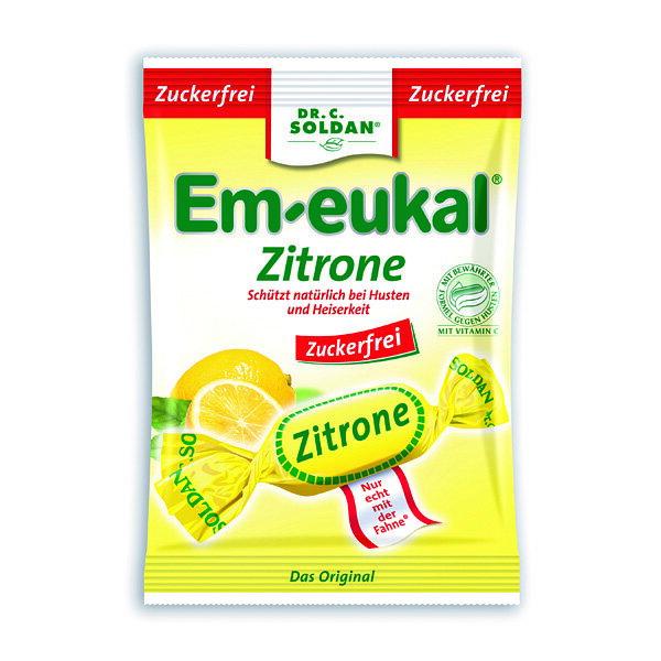 德國 索丹潤喉糖 無糖系列 檸檬糖 75G【美十樂藥妝保健】