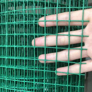 小孔鐵絲網圍欄 家用養雞圍欄圍網養殖塑料網格加粗護欄隔離網片  聖誕節禮物