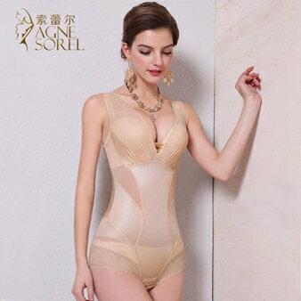 伊卡萊 夏季薄款無痕塑身衣連體產後瘦身收腹提臀束腰塑形美體束身衣女  聖誕節禮物