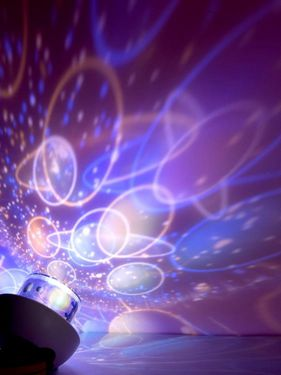 投影小夜燈滿天星星房間布置裝飾創意用品神器星空燈ATF  聖誕節禮物
