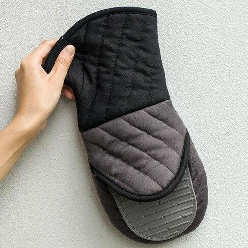 防滑隔熱手套烘焙微波爐烤箱隔熱手套  聖誕節禮物