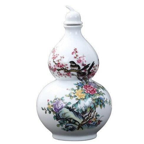 陶瓷創意5斤裝酒瓶家用酒壇子五斤空酒壺裝飾品擺件   伊卡萊生活館  聖誕節禮物