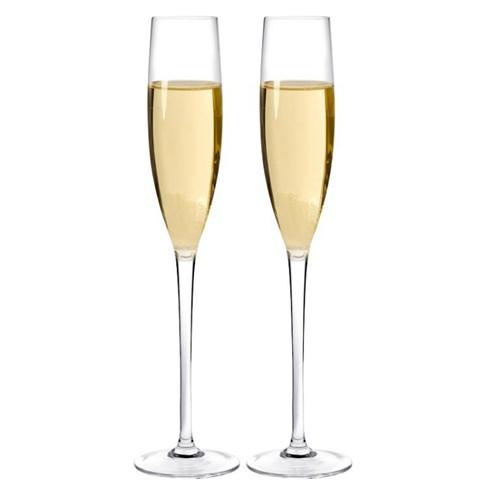 無鉛水晶香檳杯子套裝家用高腳杯甜酒杯氣泡酒杯 2/4/6只   伊卡萊生活館  聖誕節禮物
