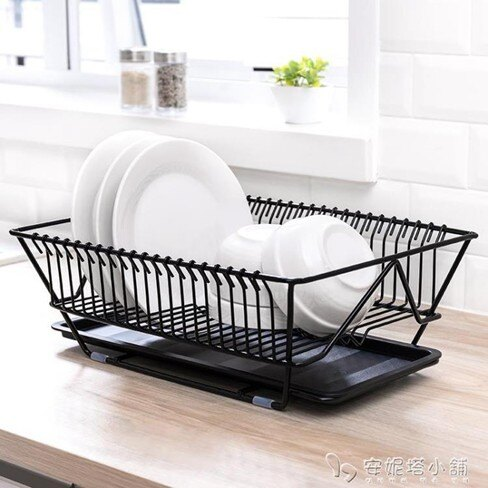納川廚房碗筷餐具瀝水架水果蔬菜收納籃盤碗碟置物架子晾碗滴水架    伊卡萊生活館  聖誕節禮物