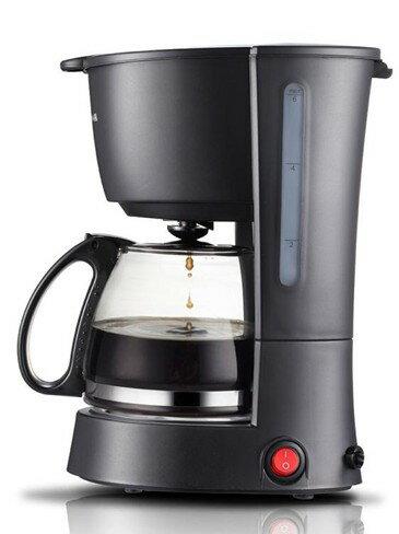 咖啡機 煮咖啡機家用迷你美式滴漏式全自動小型咖啡壺   伊卡萊生活館  聖誕節禮物
