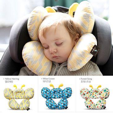 寶寶推車頭枕護頸嬰兒童u型枕汽車安全座椅睡覺旅行枕頭靠枕靠墊  中秋節免運 0