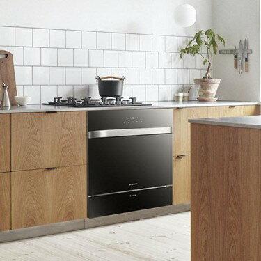 洗碗機全自動家用嵌入式8套智慧烘干消毒刷碗機  聖誕節禮物