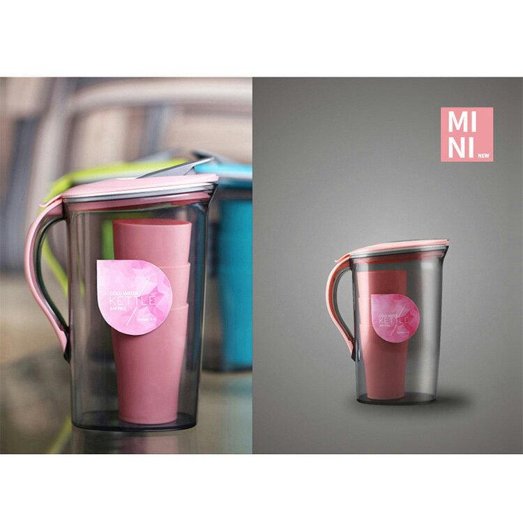 大容量塑料冷水壺水杯套裝  2.1L  1.5L【WS0365】 BOBI  11/03 2