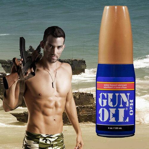 潤滑液-Gun Oil H2O 水性潤滑劑 4oz(120ml) -情趣用品