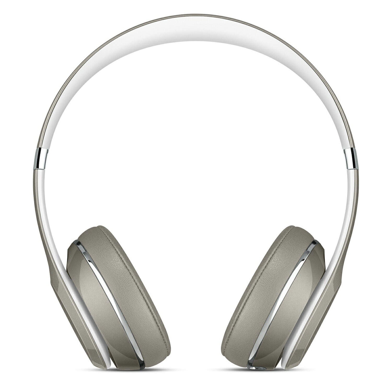 Beats by Dr. Dre Solo2 Luxe Edition On-Ear Foldable Stereo Headphones - Silver 1