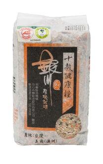 900G銀川有機十穀健康糧--來自花蓮的米