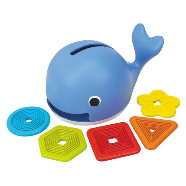 【奇買親子購物網】K'sKids愛吃形狀的鯨魚