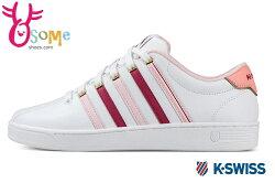 K-Swiss Court Pro II CMF 運動鞋-女款 戶外休閒鞋 C9936#粉◆OSOME奧森鞋業