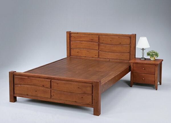 尚品傢俱:【尚品傢俱】SN-2-2瑪莎全實木5尺雙人床