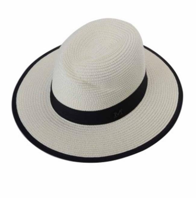 50^%OFF~E013123SWH~帽子女夏天草帽大沿遮陽帽太陽帽防曬沙灘帽女士戶外休閒