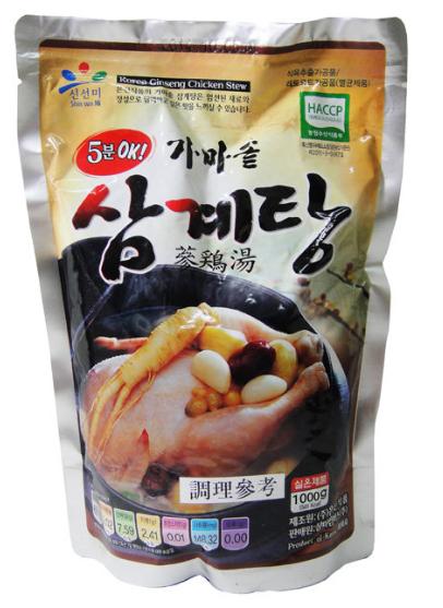 【韓新館】 신선미 新鮮味 蔘雞湯