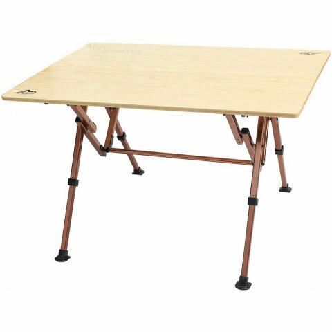 【【蘋果戶外】】Go Sport 92489 台灣 大竹板桌100*70CM 折合桌 鋁合金折疊桌 非coleman舒適達人