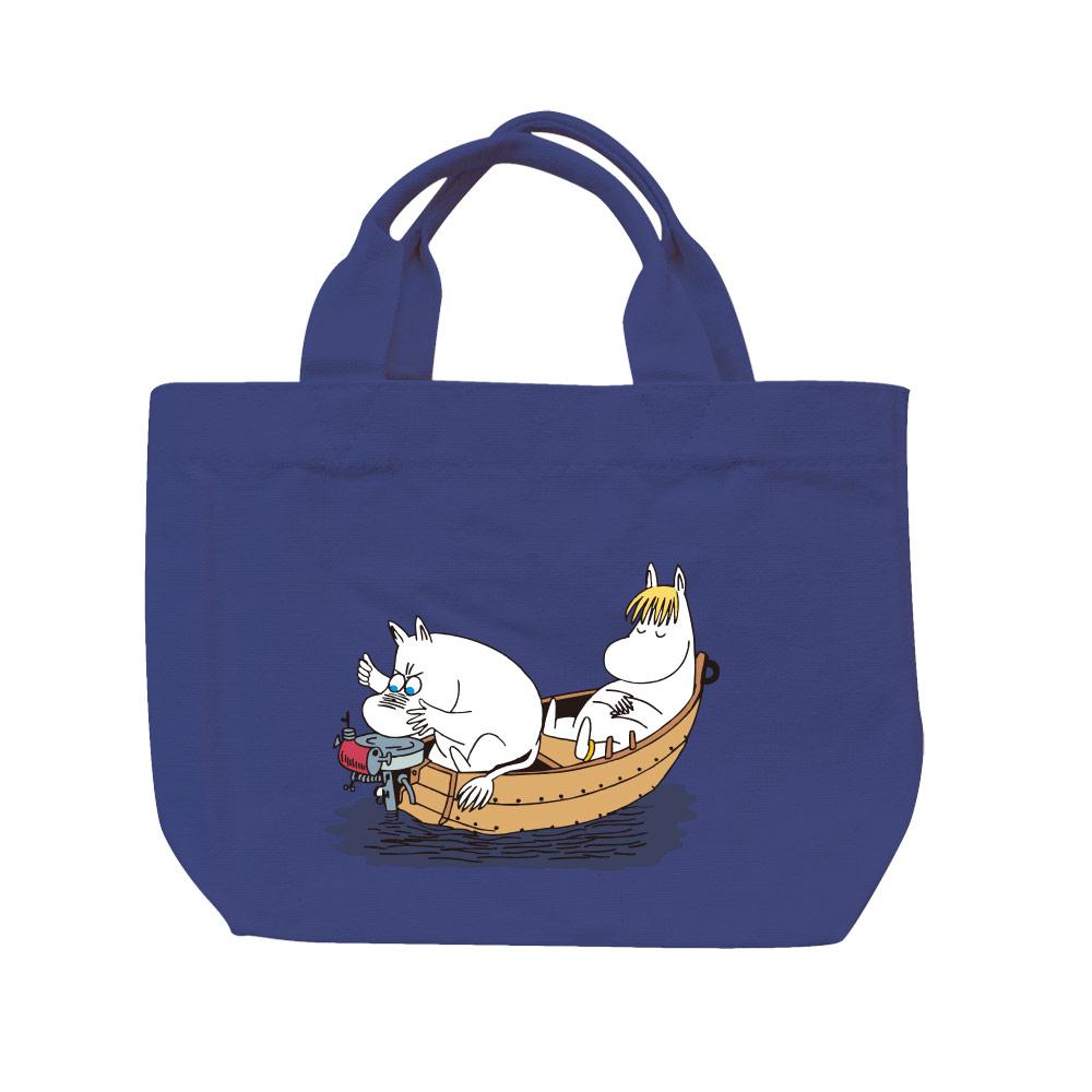 【嚕嚕米Moomin】托特包-moomin捕魚趣(藏青/軍綠)