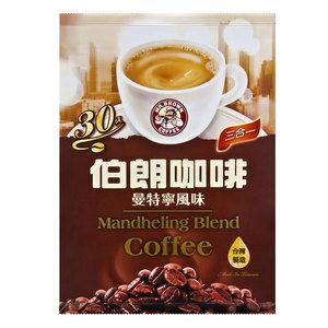 金車 伯朗咖啡-三合一曼特寧風味 (16gX30包入)/袋