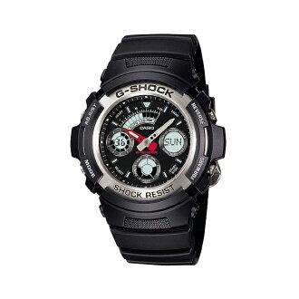 CASIO/G-SHOCK 卡西歐 AW-590-1A(AW-590-1ADR) 防水 手錶