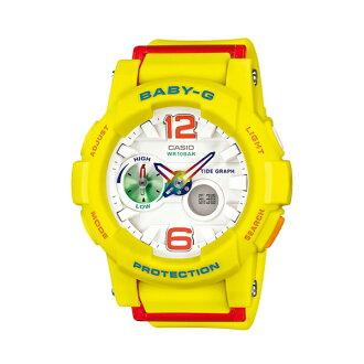 Baby-G CASIO 卡西歐 BGA-180-9B(BGA-180-9BDR) 雙顯 防水 女錶