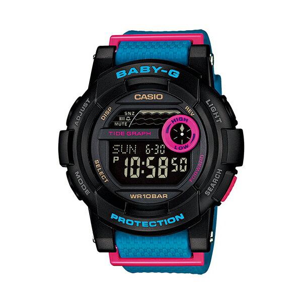 Baby-G CASIO 卡西歐 BGD-180-2(BGD-180-2DR) 防水 女錶