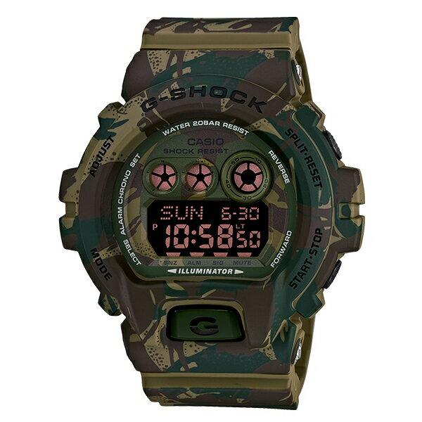 CASIO/G-SHOCK 卡西歐 GD-X6900MC-3(GD-X6900MC-3DR) 沙漠迷彩 防水 男錶