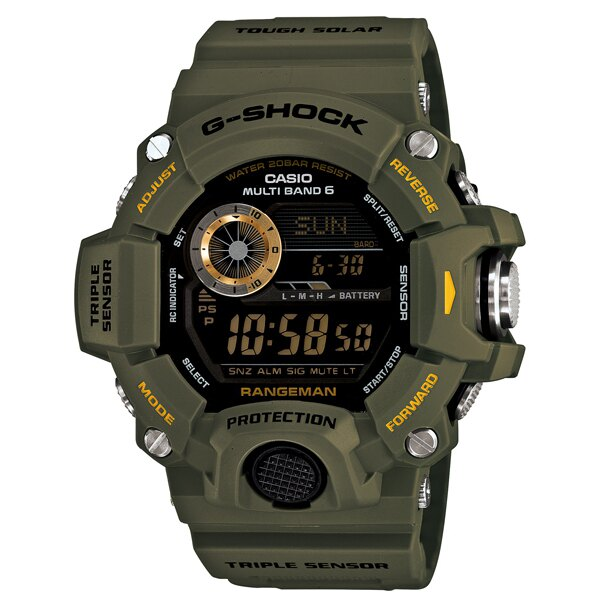 CASIO/G-SHOCK 卡西歐 GW-9400-3(GW-9400-3DR) 太陽能 電波 防水 男錶