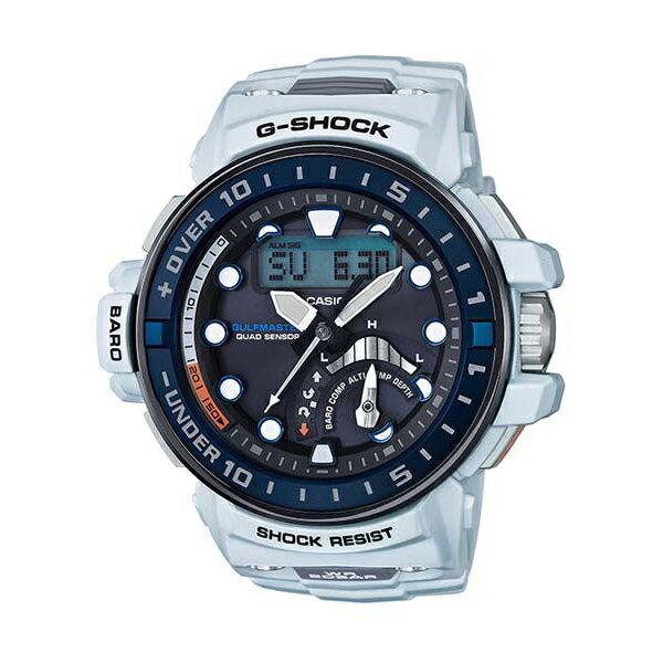 CASIO/G-SHOCK 卡西歐 GWN-Q1000-7A(GWN-Q1000-7ADR) 太陽能 電波 雙顯 防水 男錶