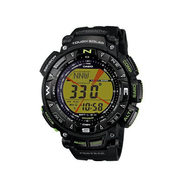 CASIO 卡西歐 PRO TREK 太陽能 登山錶 防水 男錶 PRG-240-1B