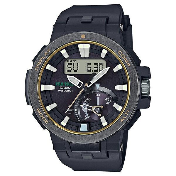 go錶趣 CASIO 卡西歐 PRO TREK 太陽能 電波 登山錶 防水 男錶 PRW-7000-1BDR
