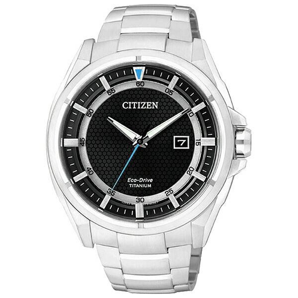 【go錶趣】CITIZEN 星辰(AW1401-50E) 光動能 時尚 男錶 黑/42mm