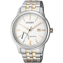 【go錶趣】CITIZEN 星辰(AW7004-57A)光動能時尚男錶 雙色/42mm