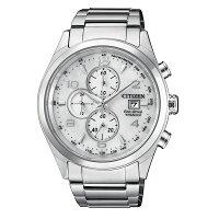 父親節禮物推薦CITIZEN 星辰(CA0650-82A) 光動能 鈦金屬 時尚 父親節限定 男錶 白/42.5mm