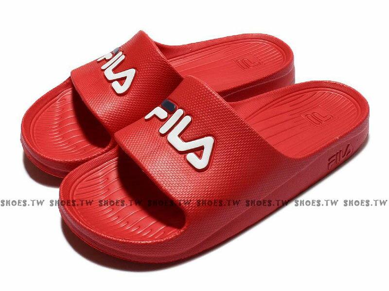 Shoestw【4S355-】FILA 拖鞋 LOGO 運動 防水拖鞋 一體成型 11種顏色 男女尺寸 【黑色4-S355Q-001】【白色4-S355Q-113】【紅色4-S355Q-221】【寶藍色4-S355Q-321】【深藍色4-S355Q-331】【粉紅4-S355R-555】【蒂芬妮綠4-S355R-666】【鵝黃4-S355R-773】【黑金4-S355T-009】【白銀4-S355T-118】【白金4-S355T-119】 2