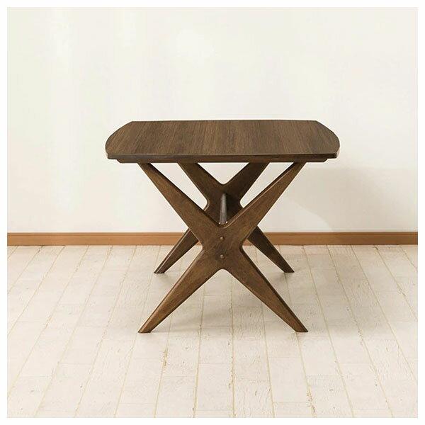 ◎橡膠木質餐桌 RELAX 160 MBR NITORI宜得利家居 2