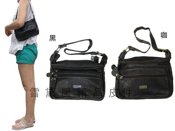 ~雪黛屋~MoDo斜側包小容量100%進口牛皮革軟皮革手提肩背斜側背附二組活動型長短背帶BMO700-71