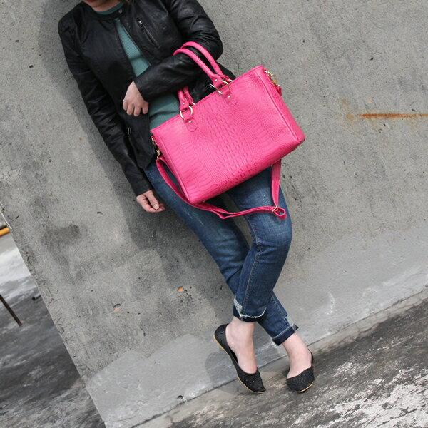 <br/><br/>  VIUVIU 出清60%大款(現貨熱賣)免運費 獨家歐美款頭層牛皮鱷魚壓紋包 托特包 手提包 肩背包 公事包 真皮包包 台灣製 共6色<br/><br/>