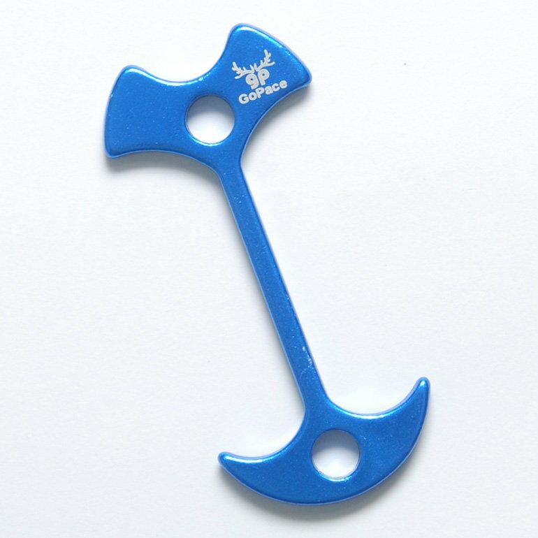 加長型魚骨釘藍色 支援加厚棧板GP17651TB[阿爾卑斯戶外/露營]