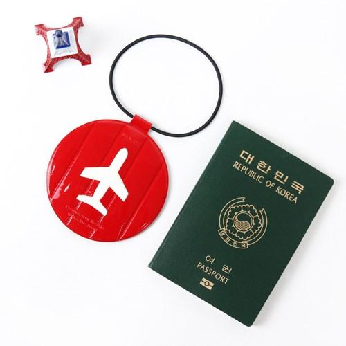 FENICE:【FENICE】耐衝擊行李吊牌(紅色)