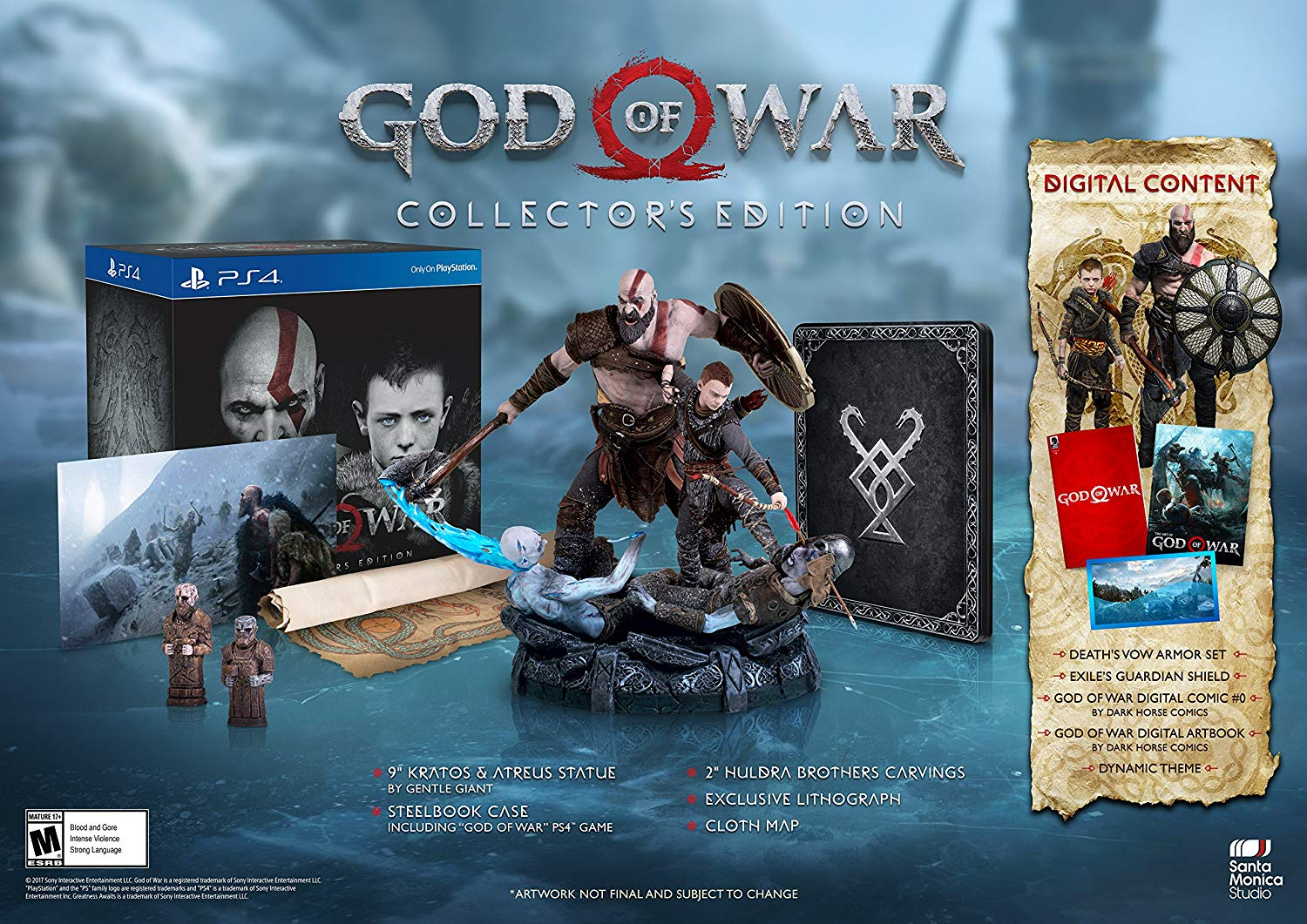God Of War Collector S Edition Sony Playstation 4