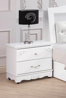 【尚品傢俱】HY-A39-05戴安娜歐風床頭櫃