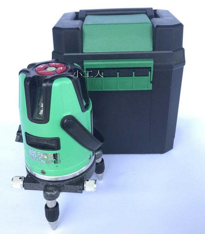 【小工人】格萊美綠光水平儀2線綠激光水平儀 室外超亮10倍強光雷射水平儀