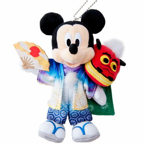X射線【C917046】日本東京迪士尼代購-新年限定米奇Mickey娃娃吊飾,包包掛飾/鑰匙圈/迪士尼/新年