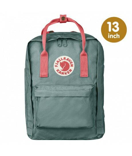 ├登山樂┤瑞典 Fjallraven Kanken Laptop 13吋電腦背包-霜綠/桃粉紅 # F27171-664319