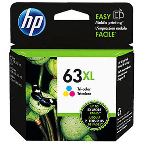 【HP 墨水匣】F6U63AA (63XL) 三色/彩色 原廠高容量墨水匣