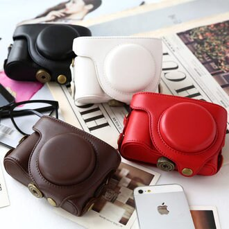 卡西歐 CASIO EX-H50 二件式 可拆 專用皮套 相機包 附同色背帶 相機套 皮質【B050093】