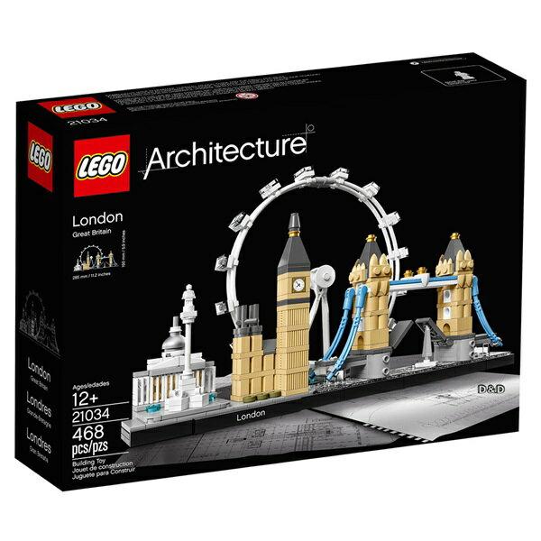 樂高積木 LEGO《 LT21034 》 ARCHITECTURE 世界建築系列 -London 倫敦