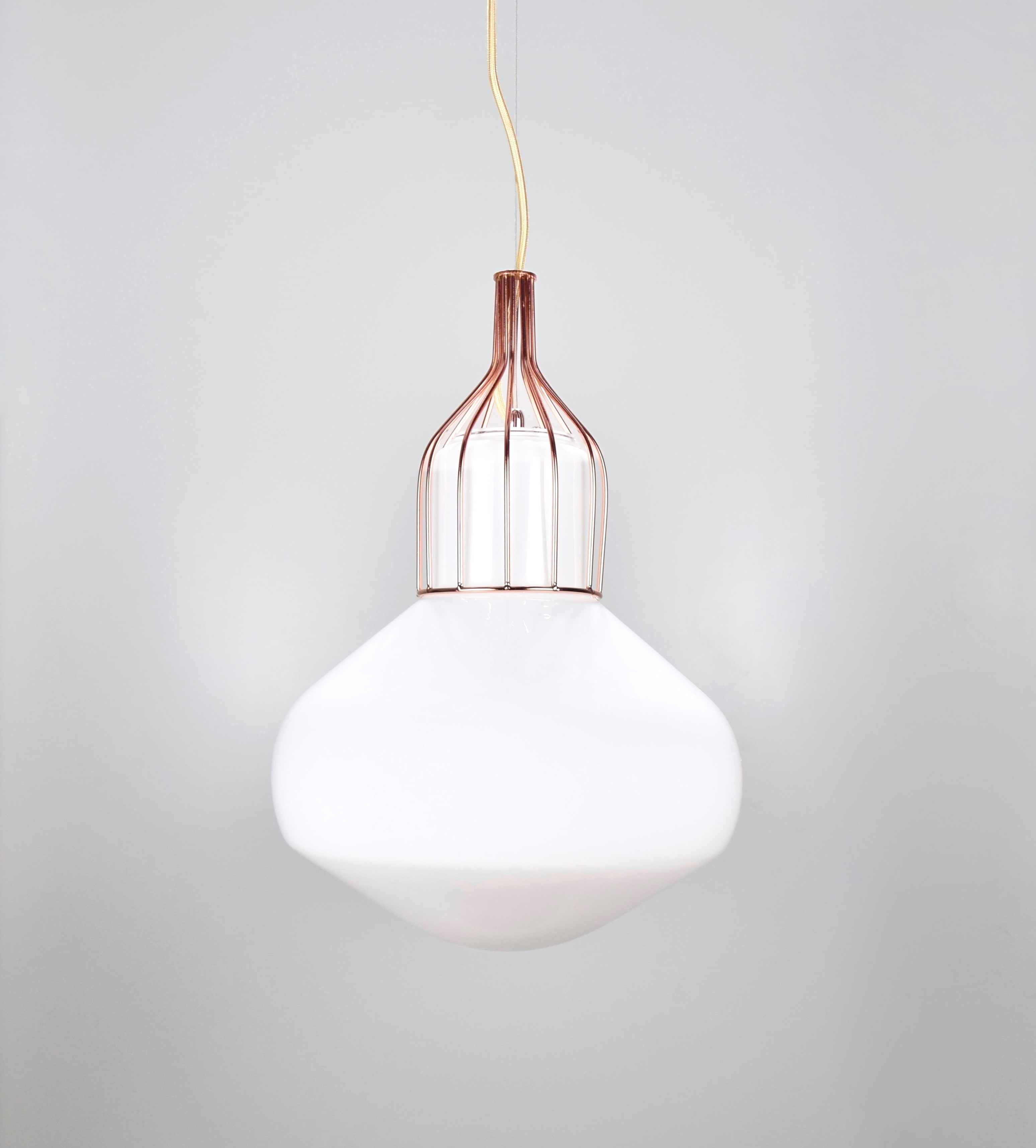 白玉紅銅吊燈-BNL00116 1