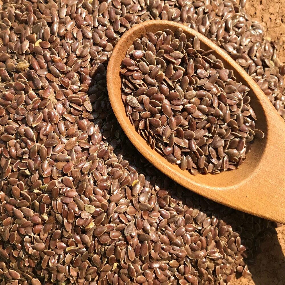 加拿大頂級黃金亞麻仁籽(粉)低溫烘焙Omega3